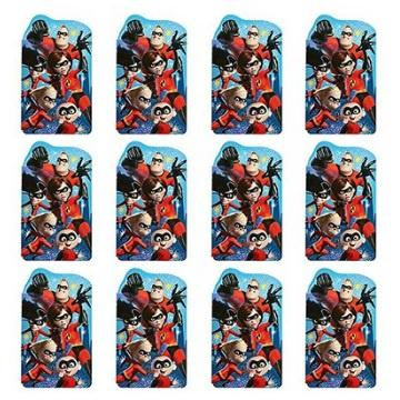 Incredibles 2 Note Pad Party Favours (Pack of 12)