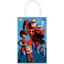 Incredibles 2 Treat Bags (Pack of 10)