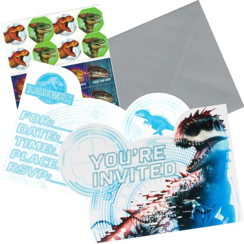 Jurassic World Party Invitations