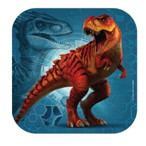 Jurassic World Lunch Plates (Pack of 8)