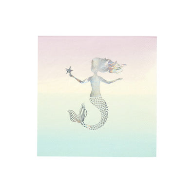 We ❤ Mermaids Party Napkins (Pack of 16)