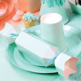 Mint Green Snack Plates (Pack of 10)