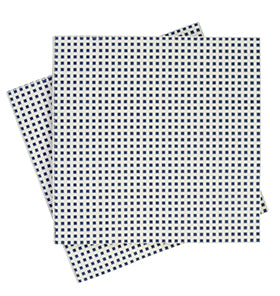 Navy Heshen Napkins (Pack of 20)