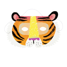 Party Animals Paper Masks (Pack of 8)
