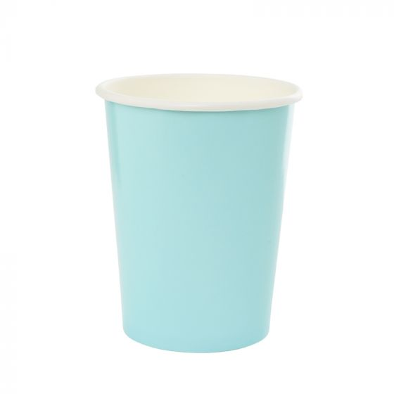 Pastel Blue Paper Cups (Pack of 10)