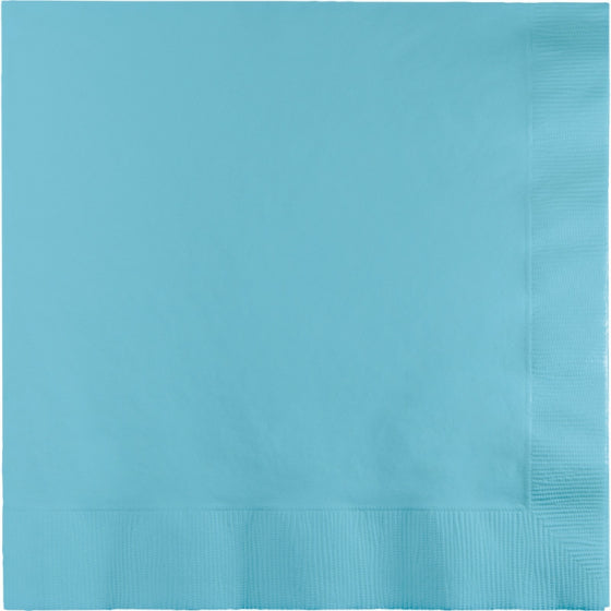 Pastel Blue Lunch Napkins (Pack of 50)