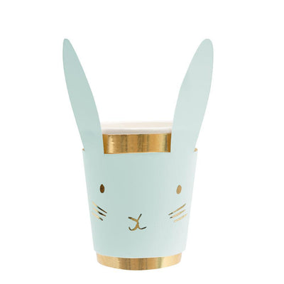 Pastel Bunny Cups (Pack of 8)