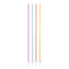 We ❤ Pastel Long Thin Candles (Pack of 16)