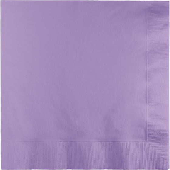 Pastel Lilac Lunch Napkins (Pack of 50)