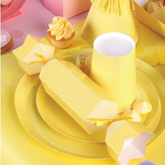 Pastel Yellow Lunch Boxes (Pack of 5)