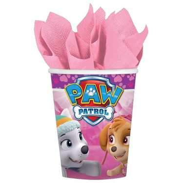 Paw Patrol Girl Party Cups (Pack of 8)