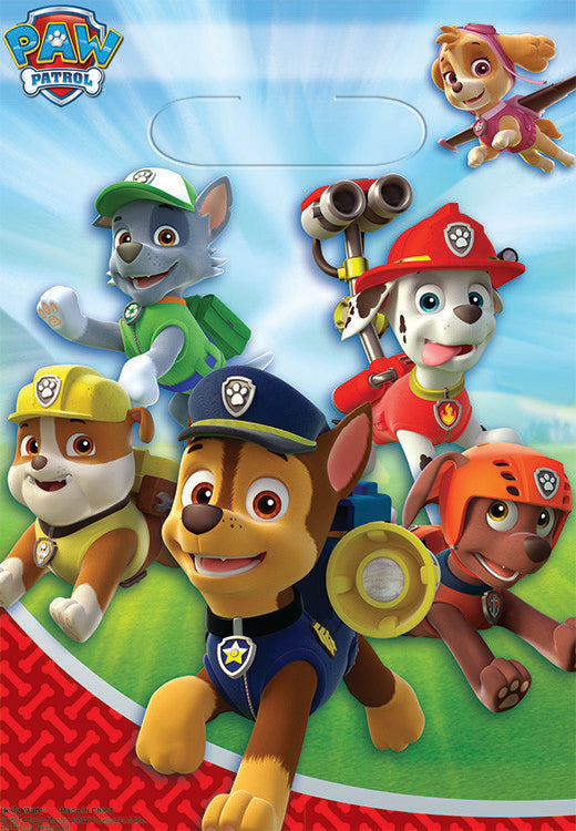 Paw Patrol Loot Bags (Pack of 8)