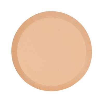 Pastel Peach Dinner Plates (Pack of 10)