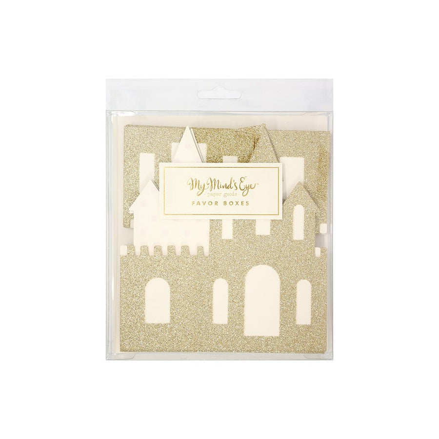 Princess Castle Favour Boxes (Pack of 8)