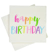 Rainbow Happy Birthday Napkins (Pack of 20)