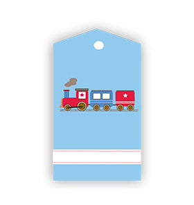 Train Party Gift Tags (Pack of 12)