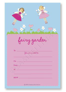 Fairy Party Invitations (Pack of 12)