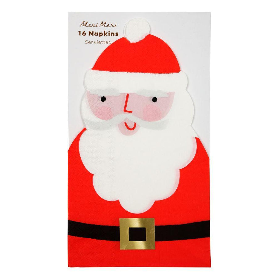 Santa Napkins (Pack of 16)