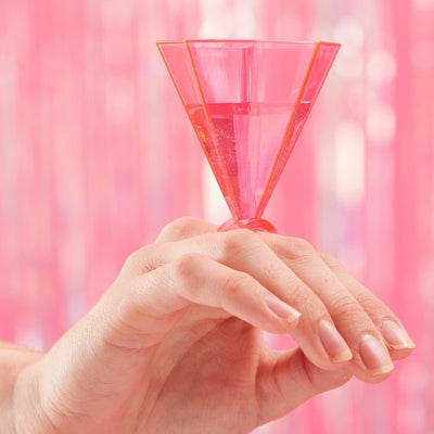 Pink Ring Party Shot Glasses (Pack of 6)
