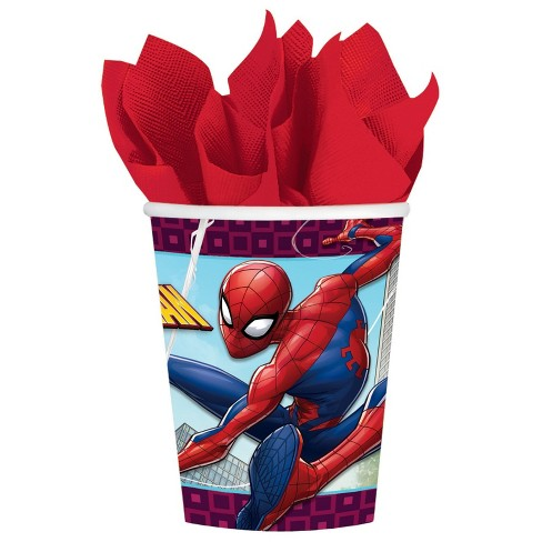 Spiderman Party Cups (Pack of 8)