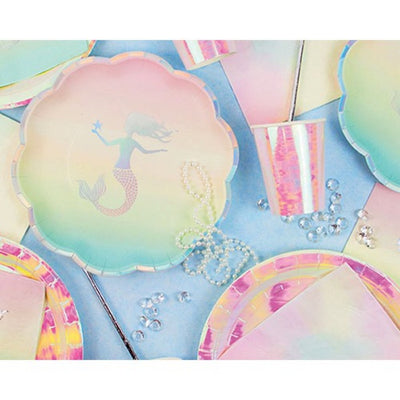 We ❤ Mermaids Party Plates (Pack of 12)