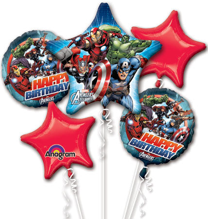 The Avengers Foil Balloon Bouquet