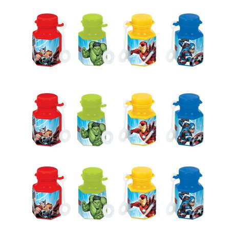 The Avengers Mini Bubbles Party Favours (Pack of 12)