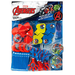 The Avengers Party Favours Pack (48 Piece)