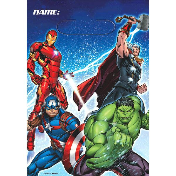 The Avengers Treat Bags (Pack of 8)