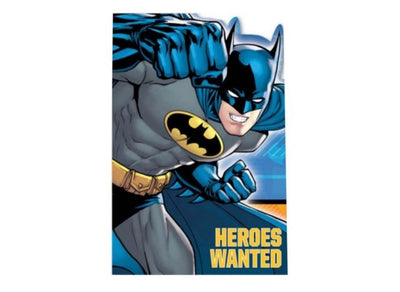 Batman Party Invitations (Pack of 8)