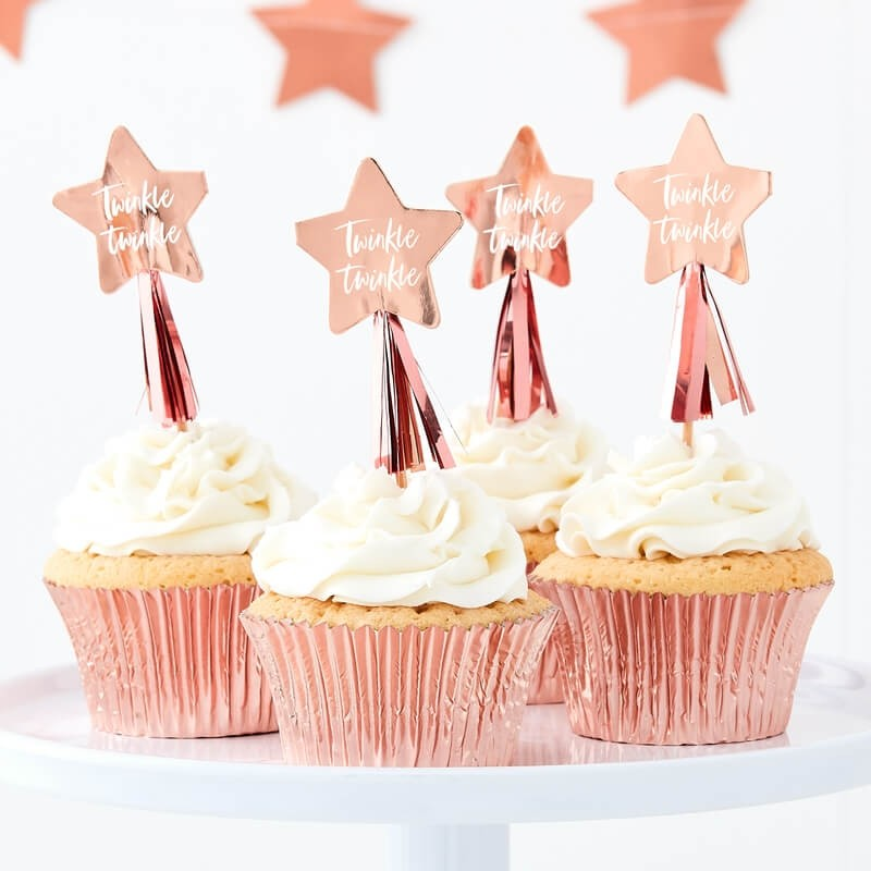 Twinkle Twinkle Cupcake Toppers (Pack of 12)