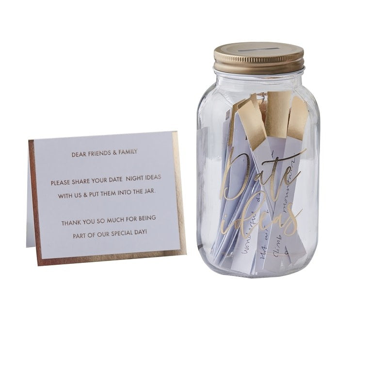 Guest Date Night Ideas Jar