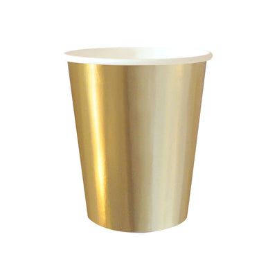 Gold Foil Cups (Pack of 10)