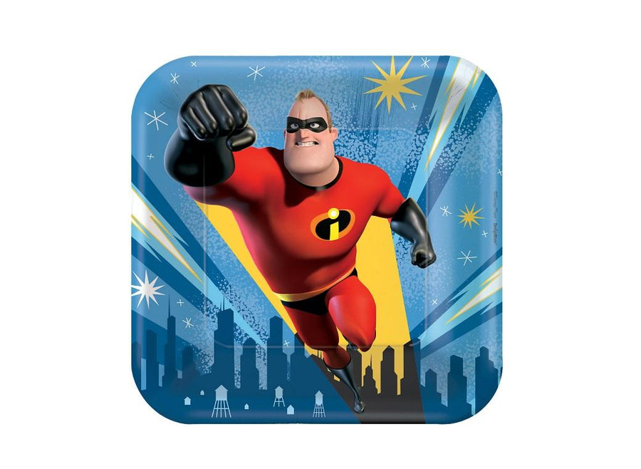 Incredibles 2 Lunch Plates (Pack of 8)
