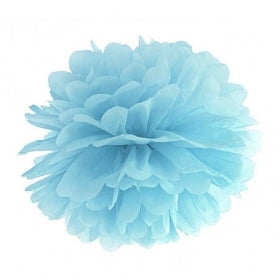 Pom Pom Decoration - Powder Blue