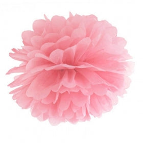 Pom Pom Decoration - Light Pink