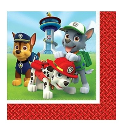 Paw Patrol Lunch Napkin (Pack of 16)