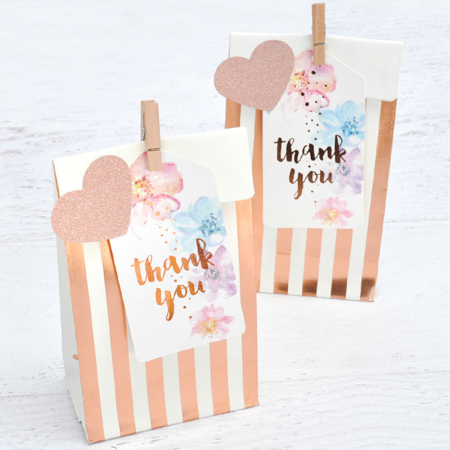 Floral Thank You Tags (Pack of 10)
