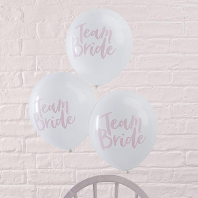 Team Bride Balloons (10 Pack)