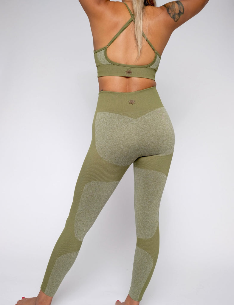 CHARCOAL COMBAT SEAMLESS LEGGING
