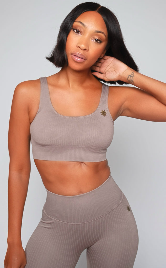 RECHARGE RIBBED SPORTS BRA