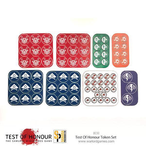 Test of Honour Plastic Token Set