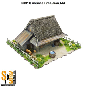 Mountain Village Farmhouse (28mm)