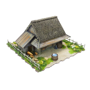 Mountain Village Scenery Set (28mm)