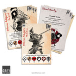 Veteran Ashigaru card set