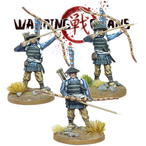 Ashigaru with Yumi (bow) 2
