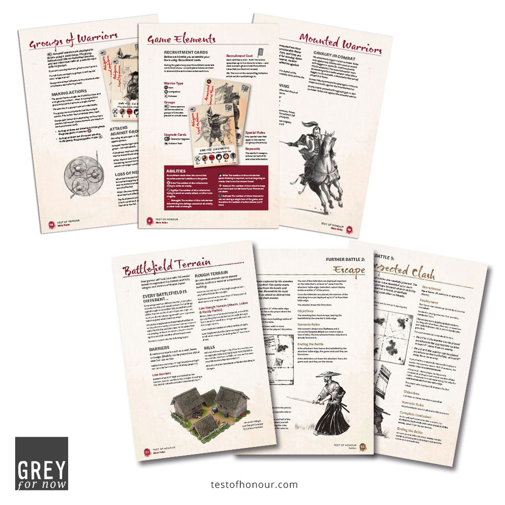 Test of Honour Limited Edition Rulebook