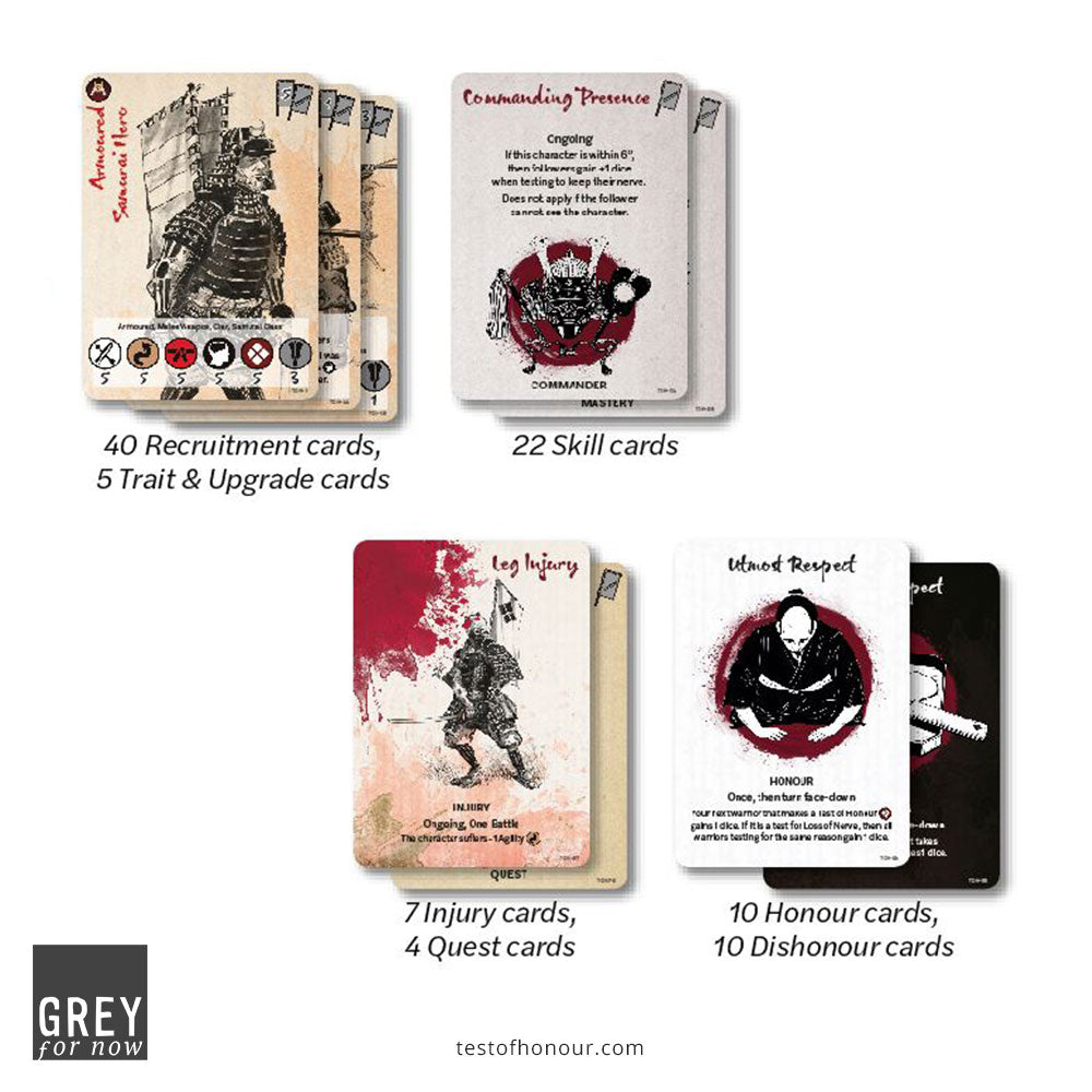 Test of Honour Core Cards