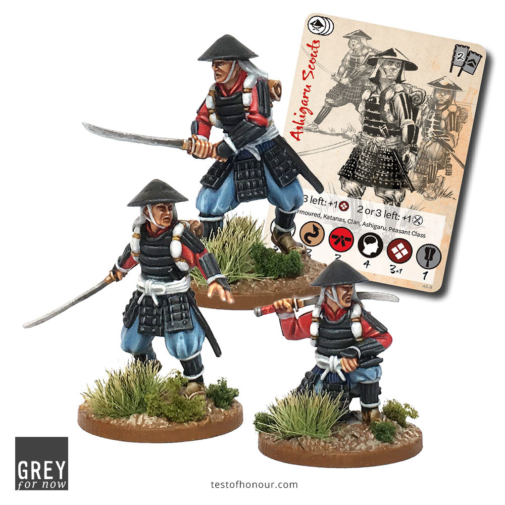 Ashigaru Scout Group (3 men)