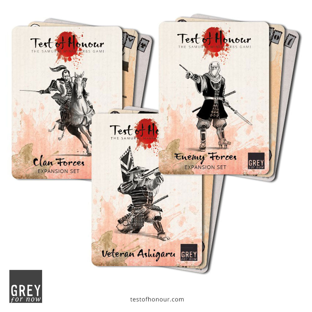 Test of Honour Faction Cards Bundle